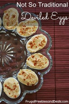 Deviled Eggs with a Sweet Secret Ingredient