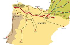 Camino de Santiago Routes in Spain