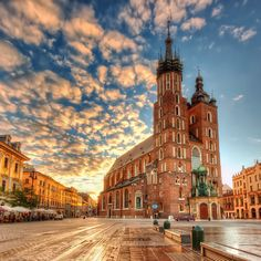 Krakow, Poland | 23 Underrated Vacation Spots Around The World To Visit Before You Die. This list has everything!