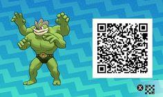 Shiny Machamp! Pokemon Sun / Moon QR Codes - Imgur