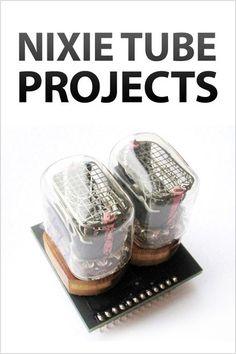 Nixie tube projects
