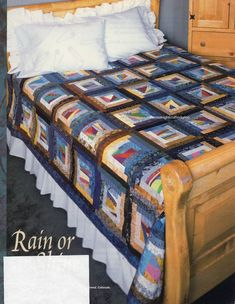 Rain Or Shine Quilt Pattern Pieced/Paper Pieced PS