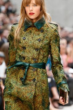 Edie Campbell in Burberry Prorsum Spring 2013