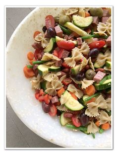 Minestrone Salad - great for summer