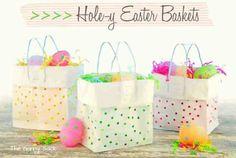 Easter basket gift bags