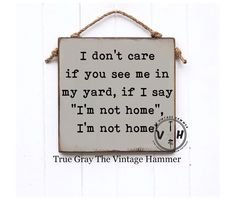Excited to share this item from my shop: Funny Porch Sign funny sign outdoor decor wood sign saying yard sign farmhouse sign family sign wood art custom colors garden sign Funny Wood Signs, Wood Signs Sayings, Sign Quotes, Funny Quotes, Funny Garden Signs, Diy Signs, Funny Garden Quotes, Garden Sayings, Hilarious Sayings