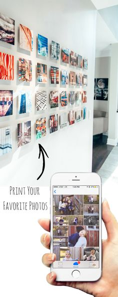 Create the perfect gallery wall directly from your phone.