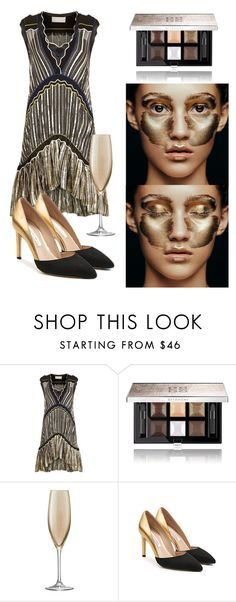 """Makeup 💄"" by subvilli on Polyvore featuring beauty, Peter Pilotto, Givenchy, LSA International, Diane Von Furstenberg and metallicmakeup"