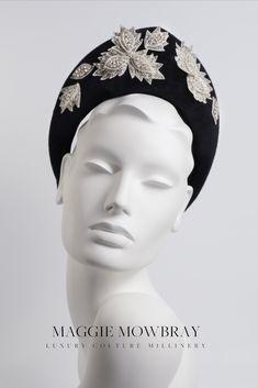 Wedding Hat, Diamanté Halo Crown Headband, Mary Queen Of Scots Style Headdress Felt Crown - Marisol Halo Headband, Fascinator Headband, Turban Headbands, Headband Hairstyles, Turbans, Fascinators, Mother Of The Bride Inspiration, Kate Middleton Hats, Felt Crown