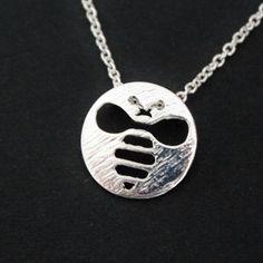 Bee necklace little bee bine ketting door SchoenKreativDesign