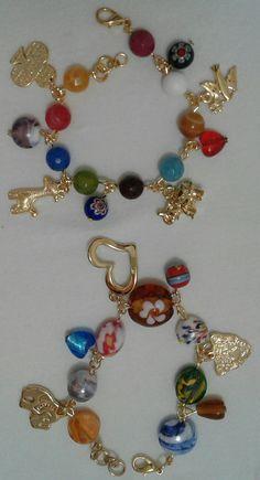 Cute Jewelry, Charm Jewelry, Boho Jewelry, Gemstone Jewelry, Jewelery, Jewelry Bracelets, Handmade Jewelry, Bracelet Crafts, Jewelry Crafts