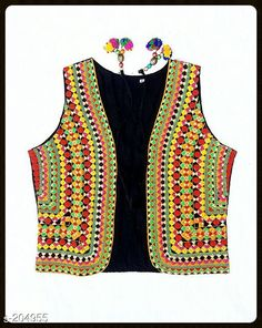 Ethnic Jackets & Shrugs Fancy Cotton Kutchi Work Jacket  *Fabric* Cotton 