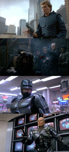 RoboCop...remember Murphy