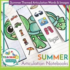 Overcome the challenges of mixed groups with fun Summer Articulation Activities for Notebooks. Each student can work on the same pages even if their target goals are different. Articulation Activities, Speech Therapy Activities, Speech Language Pathology, Language Activities, Speech And Language, Teaching Vocabulary, Teaching Grammar, Teaching Kindergarten, Teaching Ideas