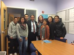 David Lopez, Gen Counsel - U.S. Equal Employment Opportunity Commission meets w/WHS student panel #EquityWarrior