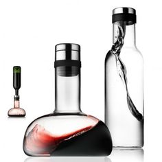 A wine breather decanter for connoisseurs...