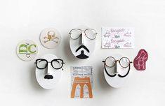 Soporte gafas 14 tipos / sostenedor de anteojos / por DubuDumo