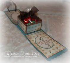 Inside Gift Box#Paper Crafting Gift Box