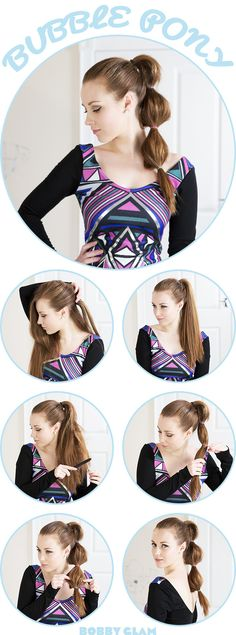 I love the Bubble Pony...how fun is this style?