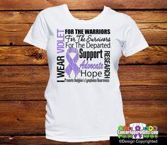 Hodgkins Lymphoma Tribute Shirts