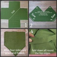 Burlap Box Steps 1-4