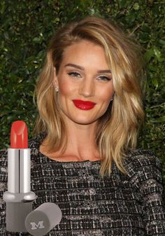 We love RHW's bold red lip. Recreate her statement look with Mavala's Cherry Red