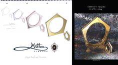 #miltonfirenze #ring and #bracelet. #milton #design  www.milton-firenze.com