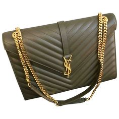Buy your portefeuille enveloppe monogramme leather handbag Saint Laurent on Vestiaire Collective, the luxury consignment store online. Second-hand Portefeuille enveloppe monogramme leather handbag Saint Laurent Grey in Leather available. Tote Handbags, Leather Handbags, Saint Laurent Handbags, Backpack Travel Bag, Grey Leather, Small Bags, Bag Accessories, Purses And Bags, Designer Bags