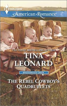 The Rebel Cowboy's Quadruplets by Tina Leonard