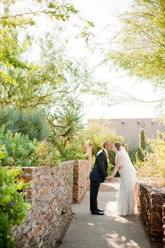 Phoenix Wedding at Desert Botanical Garden by Elyse Hall Photography  Read more - http://www.stylemepretty.com/2012/07/26/phoenix-wedding-at-desert-botanical-garden-by-elyse-hall-photography/