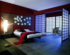 Japanese Bedroom Interior Design Ideas