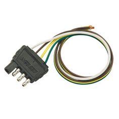 Wesbar 4 Way Wiring Harness Connectors - https://www.boatpartsforless.com/shop/wesbar-4-way-wiring-harness-connectors/