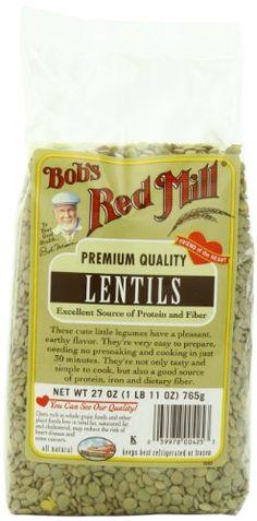 Bob's Red Mill Beans Lentils, 27-Ounc...