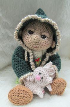 So Cute Baby Doll Winter Wear Set by Teri Crews.