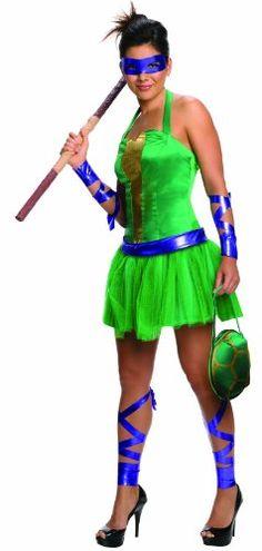 Secret Wishes  Costume Teenage Mutant Ninja Turtles Donatello Adult Female, Green, Medium Rubie's Costume Co http://www.amazon.com/dp/B00C0PG25K/ref=cm_sw_r_pi_dp_kaY.tb0Z4E5TJ
