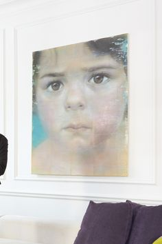 Mark Karasick Encaustic painting