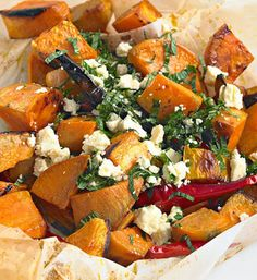 Roast sweet potato and chilli salad  - Better Homes and Gardens - Yahoo!7