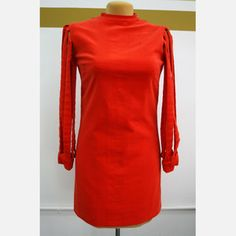'60s Hot Red Dress, $210, now featured on Fab.