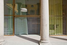 FOREST COMES HOME. Kvadrat showroom in Milan.