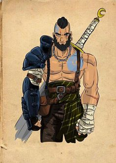 Barbarian by Celson Kisler