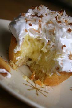 the Non-Dairy Queen: Mini Coconut Cream Pies and Mini Vanilla Custard Pies