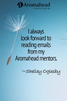 What I loved about Aromahead:  Andrea, Cindy and Shelia are incredible teachers and mentors and I have enjoyed every lesson and webinar. The feedback on my case studies and research paper were very encouraging and I always look forward to reading emails from my Aromahead mentors. The forum is also very helpful. It is very supportive and I can search for topics and answers to my questions on numerous topics. http://aromahead.com/graduates/shelley.oglesby