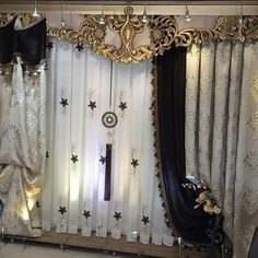 Home decoration is carried to the upper levels with home textile products. Curtain models come at the top of the items that carry the decoration to the upper levels. The…Read Living Room Curtain Models Elegant Curtains, Beautiful Curtains, Modern Curtains, Drapes Curtains, Curtains 2018, Fancy Curtains, Window Cornices, Window Coverings, Window Treatments