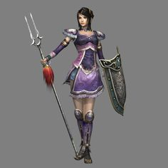 Female Character... from dynasty warriors here is the picture link dynasty warriors 5 ps2