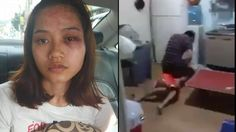 Husband Pins Wife Down On The Floor And Punches Her – What Kind of Jerk Is He?!