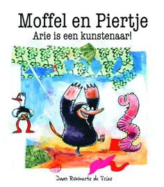 Boekenhoek: Moffel en Piertje Arie is een kunstenaar