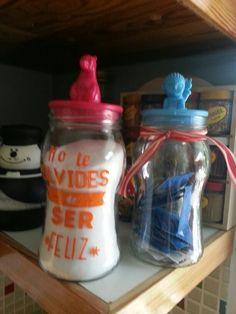 Tapas originales para los frascos♡