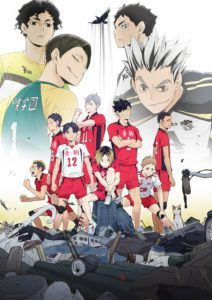 Haikyuu Saison 2 Vf : haikyuu, saison, Volleyball, Series, Haikyuu, Serves, Season, January, Anime, Herald, Anime,, Manga,