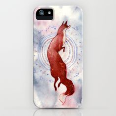 Fox Dance iPhone & iPod Case by Melani Huggins - $35.00