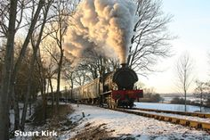 Kent and East Sussex Railway - Steam train in the countryside - Stuart Kirk Amateur Photographer